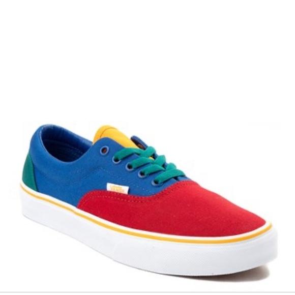 Vans Era Colorblock Skate Shoe Multi